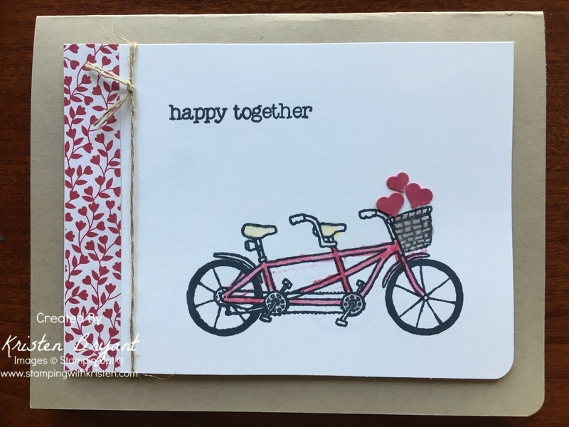 Pedal Pusher Love stampingwithkristen.com