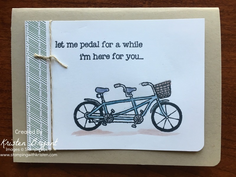 Pedal Pusher www.stampingwithkristen.com