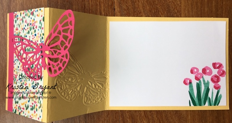 Open card www.stampingwithkristen.com