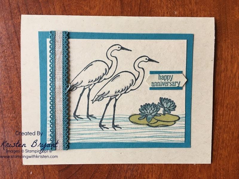 Lilypad Lake www.stampingwithkristen.com